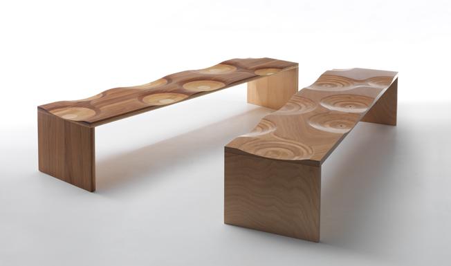 ripples bench