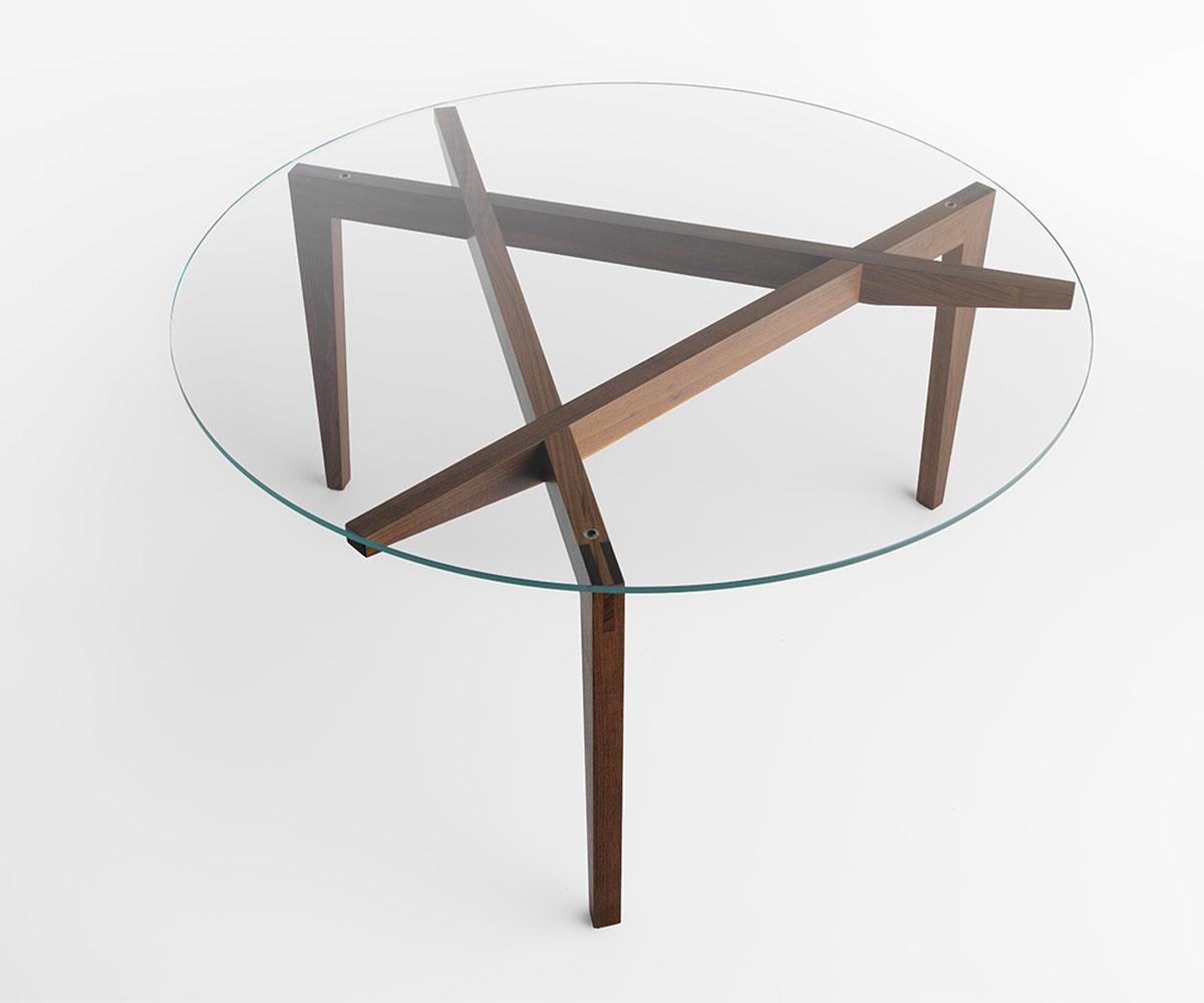 Table Autoreggente Rotondo