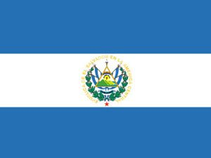 National flag of El Salvador
