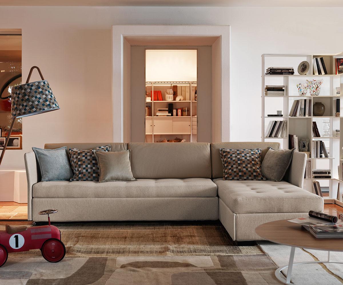 Sofa Bed Figi Isola Contenitore