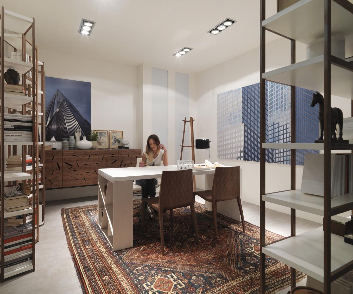 J table arredare casa con mobili di design horm e casamania - Case mobili di design ...