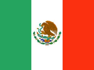 National flag of Mexico