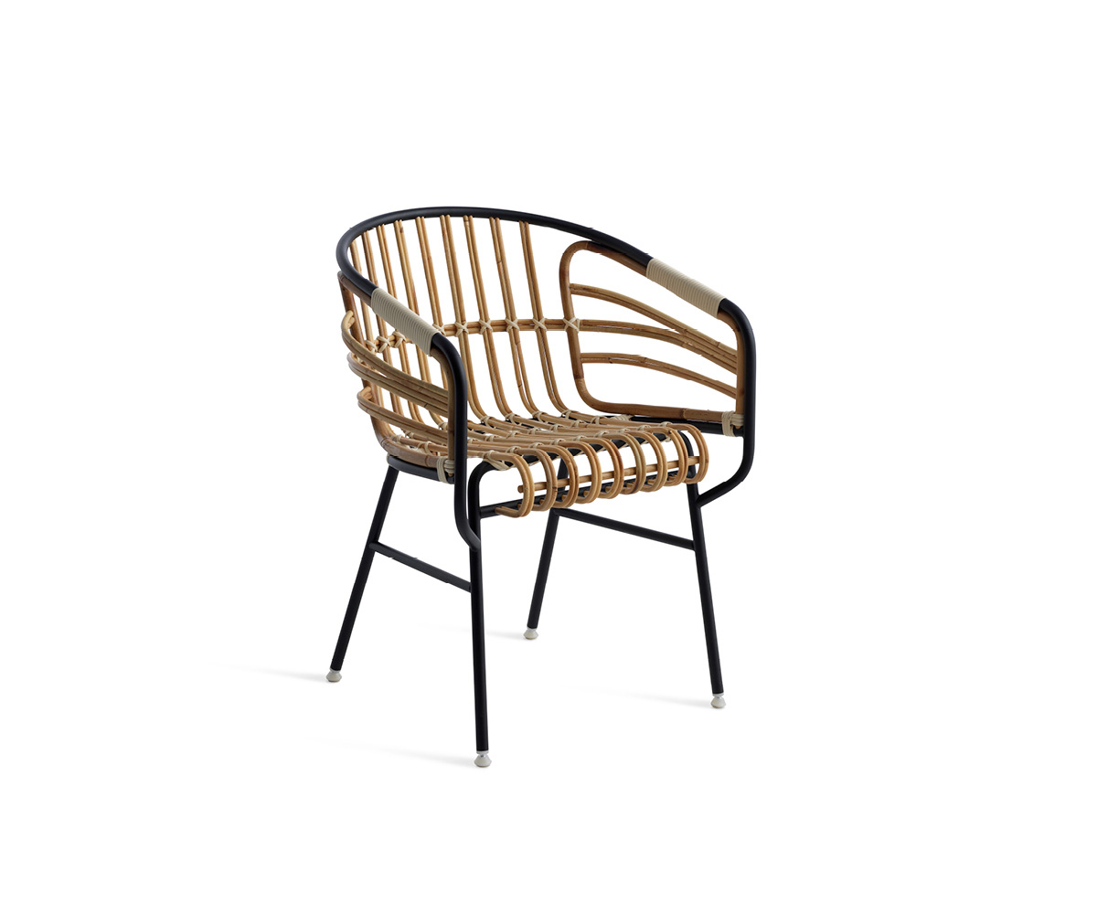 Chair Raphia Rattan