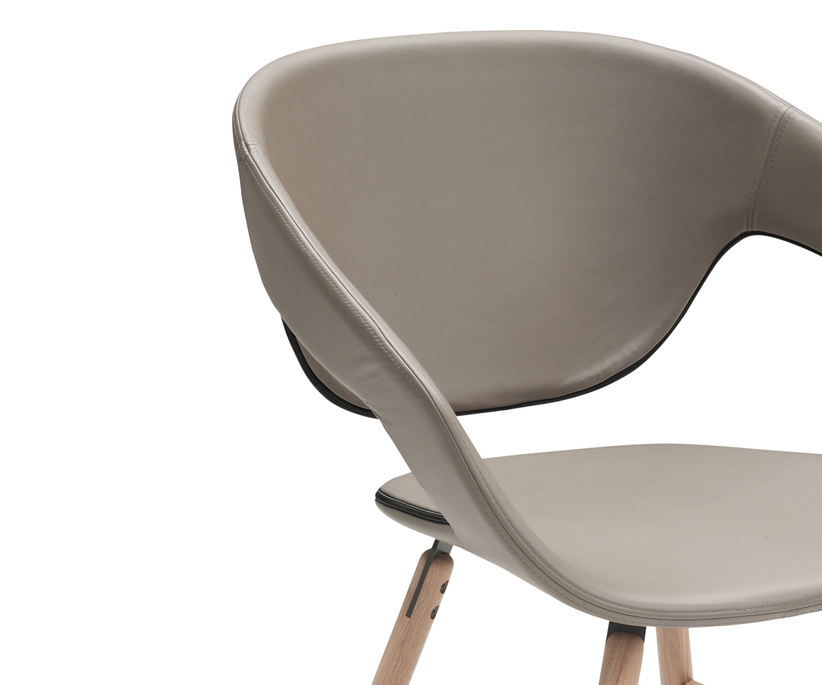 vad wood upholstered