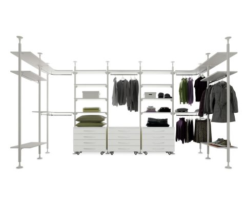 Walk-in Closet Web System