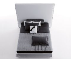 white high bed