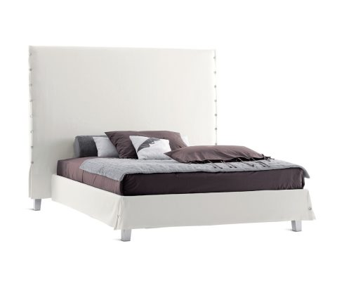 Bed White High
